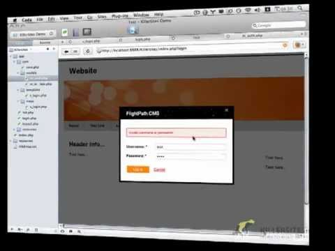 Build A CMS Part 23 - Login Form Functionality Continued