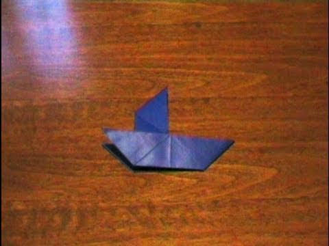 How to make an Origami Sailboat (Multiform - Form 5) ...for all (46)