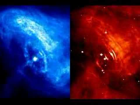 Time-Lapse Movie Of Crab Pulsar Wind