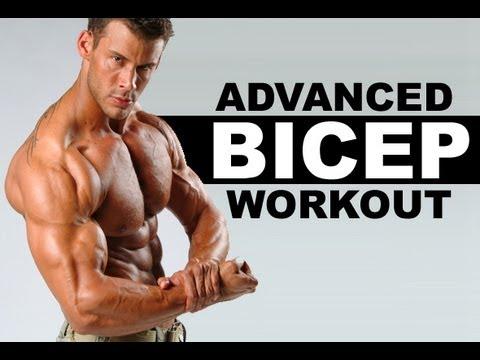 Advanced Bicep Workout ( Dropsets ) : Get Massive Guns Fast !