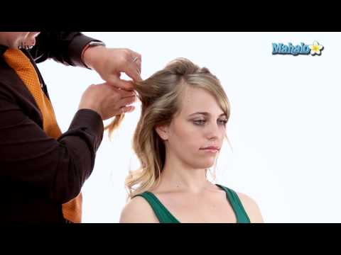 How to Create a Wedding Updo for Long Hair
