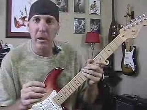 Harmonic minor scale guitar lesson ala Yngwie Malmsteen