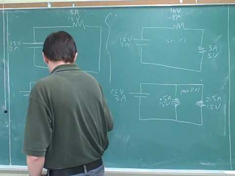 Physics: Electric circuits. Resistors (6)