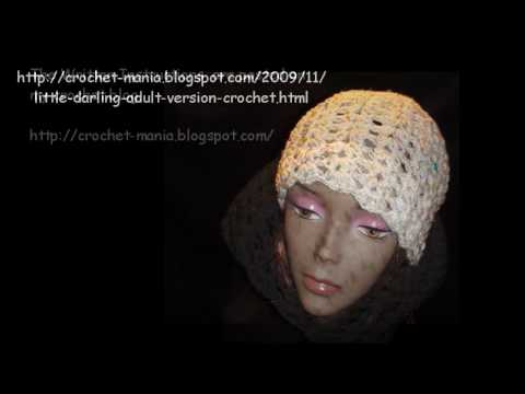 Art of Crochet by Teresa - The Art of Crochet by Teresa - Darling Crochet Hat