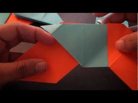 Origami Daily - 047: Modular 8 Pointed Ninja Star (Shuriken) - TCGames [HD]