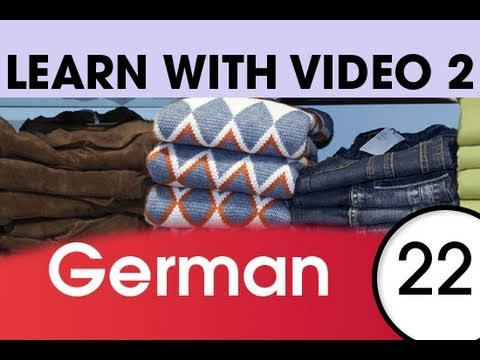 Learn German with Video - Get Dressed — and Undressed — with German