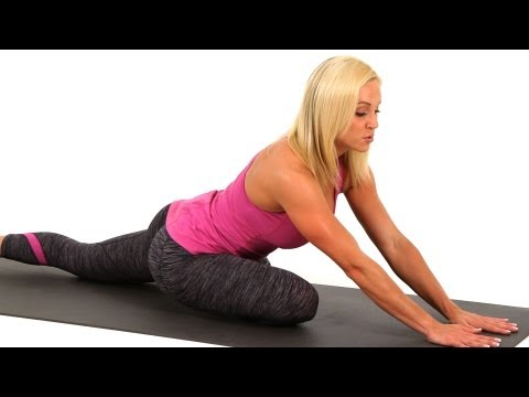 Leg Stretches: Outer Thigh Stretch   Sexy Legs Workout