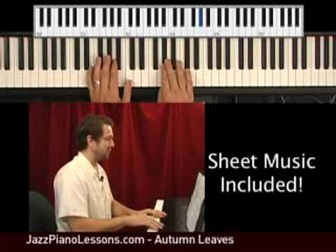 Jazz Piano Improvisation Autumn Leaves - Promo