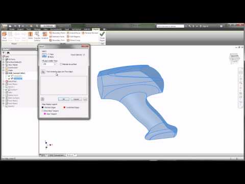 Concept Design to CAD Model Workflow with Autodesk Product Design Suite