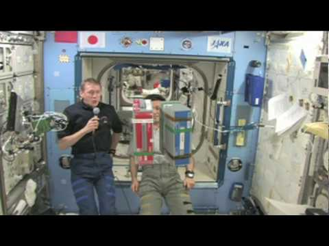 Launchpad: Bernoulli's Principle On-Board the International Space Station