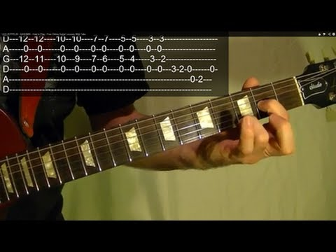 KASHMIR by LED ZEPPELIN ( Guitar Lesson ) WITH TABS