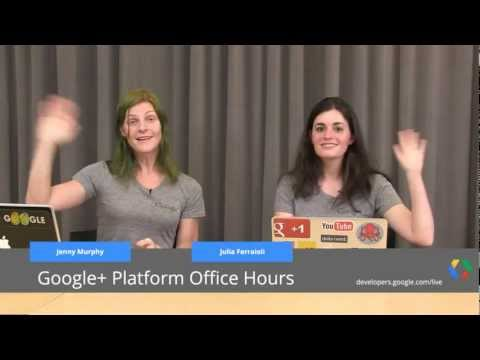 Google+ Platform Office Hours: Mobile