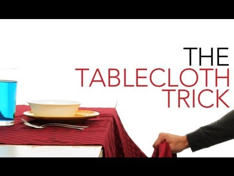 The Tablecloth Trick - Sick Science! #011
