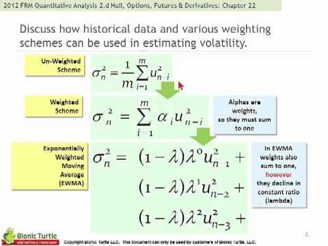 2012 FRM Quantitative Analysis T2.d