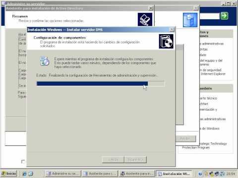 Instalación de Active Directory por Pablo Martínez