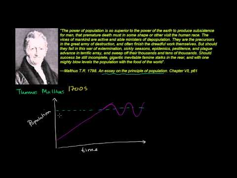 Thomas Malthus and Population Growth
