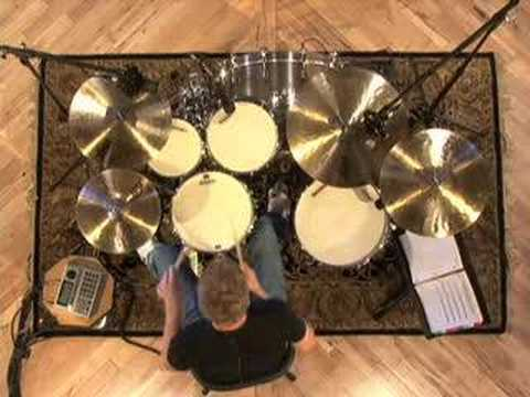 Sixteenth Note Accent Drum Fills - Drum Lessons
