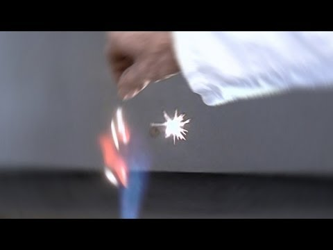 Zirconium in Flame