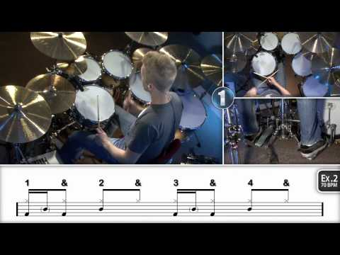 Beginner Ghost Notes - Drum Lessons