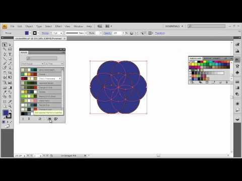 Adobe Illustrator CS4 Advanced Use Live Color to Recolor Artwork