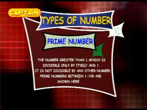Learn Math - Types Of Numbers