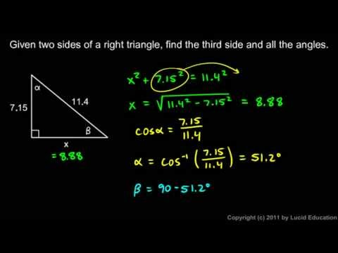 Algebra 2  11.09a - Solving Problems - Examples 1 - 2