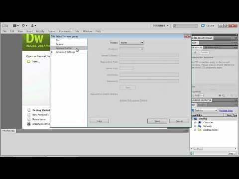 Total Training for Adobe Dreamweaver CS5: Ch3 L2 Setting Up a New Site
