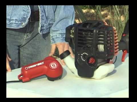 Troy-Bilt Press 2 Start Electric Motor Demonstration