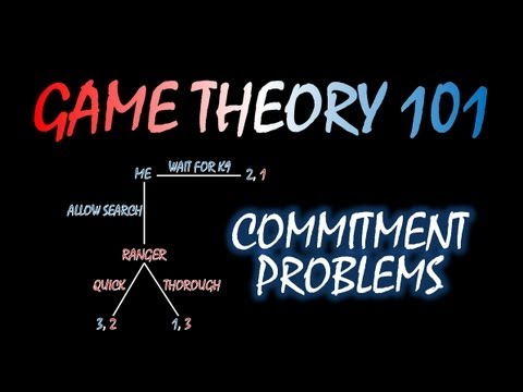 Game Theory 101: Commitment Problems