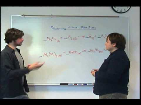 Balancing Chemical Equations Part One