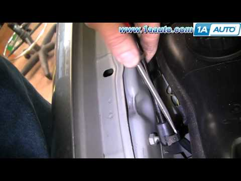 How To Install Replace Falling Weak Hood Supports Mercury Sable 00-05 1AAuto.com