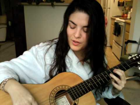 A new song... and I'm in a bathrobe...