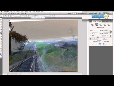 Learn Adobe Photoshop - Clone Source Panel