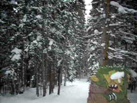 Skiing the Rainbow, Loveland Valley Colorado
