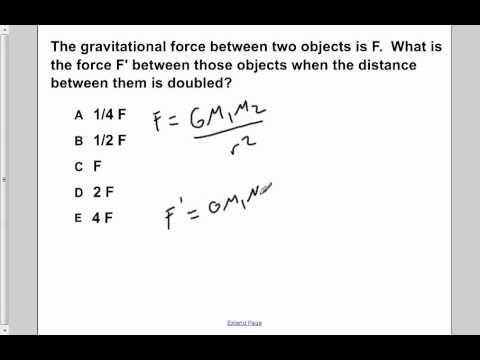 AP Physics B Universal Gravitation Presentation #3