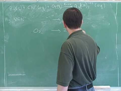 Chemistry: Balancing redox reactions (15)