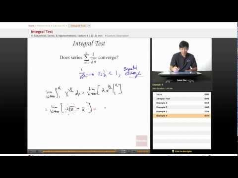 AP Calculus BC: Integral Test