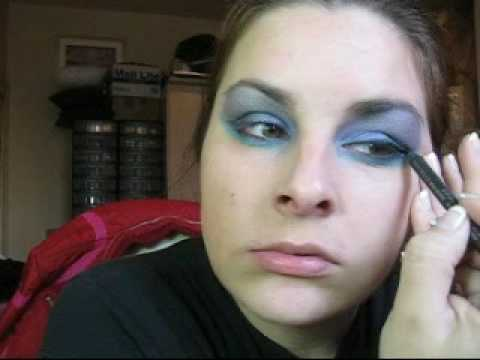 HALLOWEEN ANGEL FAIRY EYES LOOK w/ MAC make up