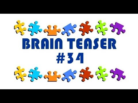 Video Brain Teaser #34