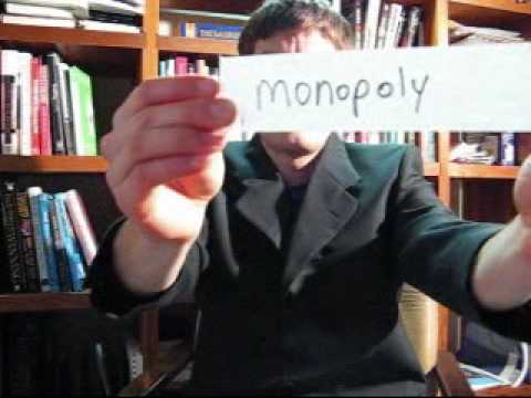 Learn Business Conversation English 88  (perfect competition, oligopoly, monopoly)