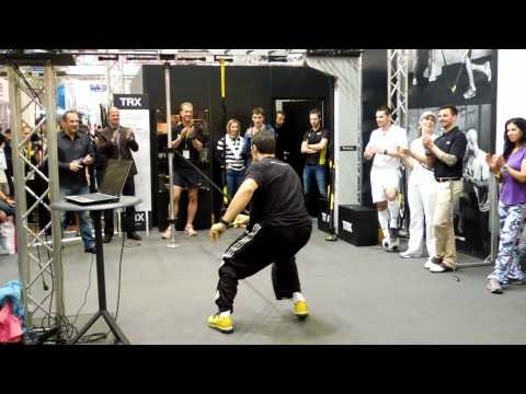 TRX Director of Rip Training Pete Holman at FIBO 2012