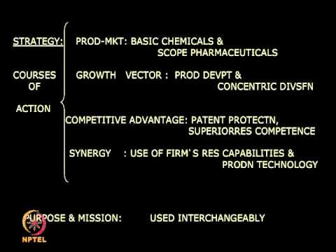 Mod-01 Lec-01 Introduction to Strategic Management