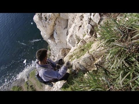 Cliffside Egg Collecting | Frozen Planet