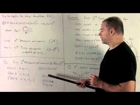 Motivating Taylor Polynomials 2