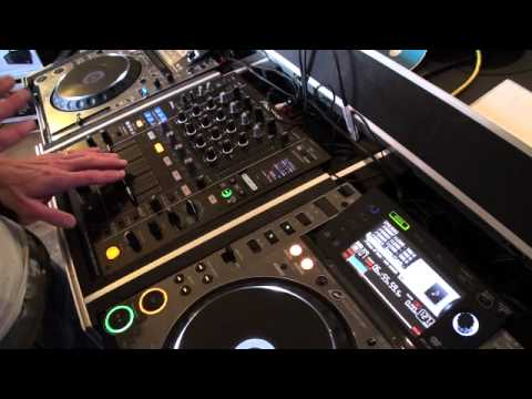 DJ TUTORIAL on  Up-faders, mix, transition