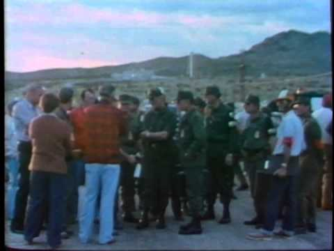 NUWAX-81 Nuclear Weapon Accident Training Exercise (1982)