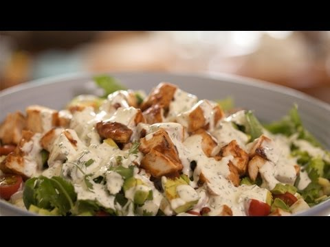 Homemade Ranch Dressing: How To Make || KIN EATS