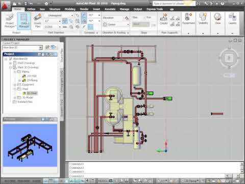 Bill of Materials in AutoCAD Plant 3D