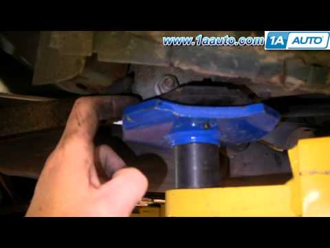 Where How To Jack Up and Support with Jack Stands Buick Regal Pontiac Grand Prix 91-96 1AAuto.com