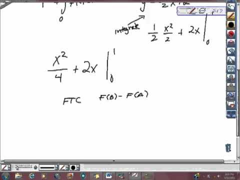 AP Calculus Free Response Example 2nd FTC ptii